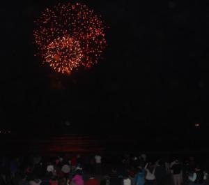 Bahia De Los Vilos Se Ilumino Al Compas De Los Fuegos Artificiales
